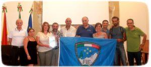 Il gruppo FIE nella sede del Parco dell'Etna